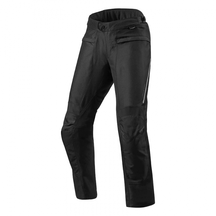 Kalhoty na motorku Revit Factor 4 černé prodloužené