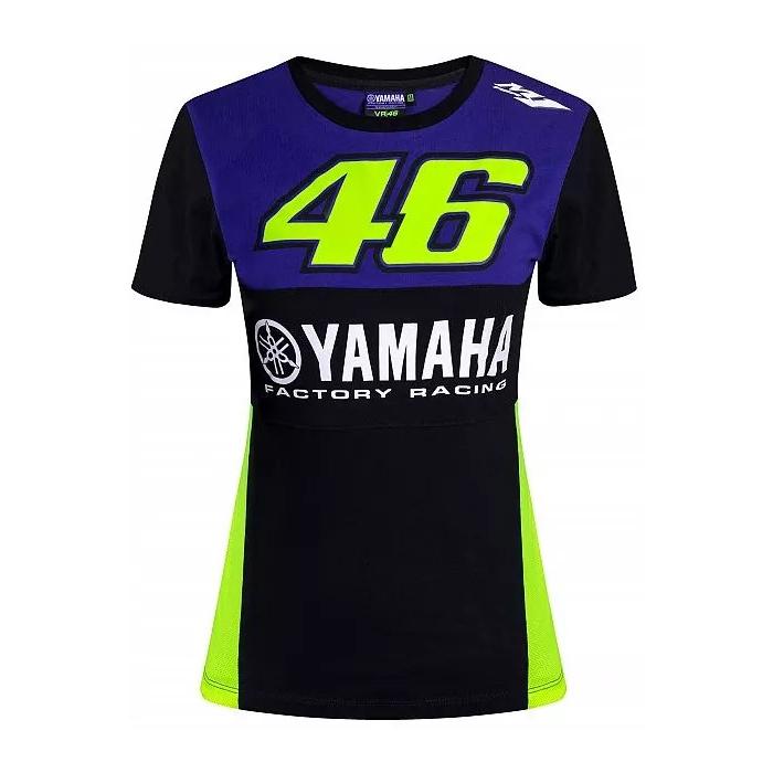 Dámské triko VR46 Valentino Rossi Yamaha