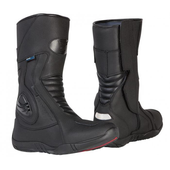 Boty na moto Rebelhorn Hail černé matné