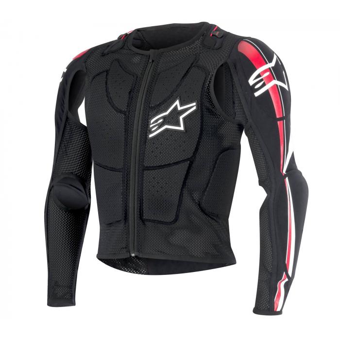 Chránič těla Alpinestars Bionic Plus černo-bílo-červený