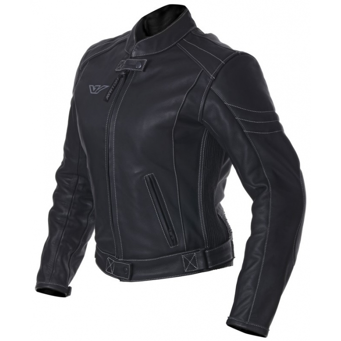 Dámská bunda na motorku Ayrton Vixen černá