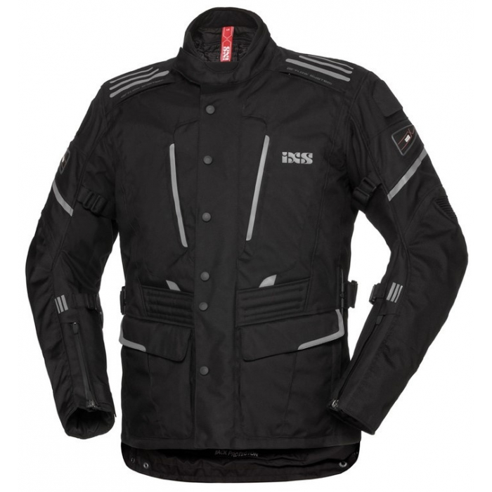 Dámská bunda na motorku iXS Powells černá