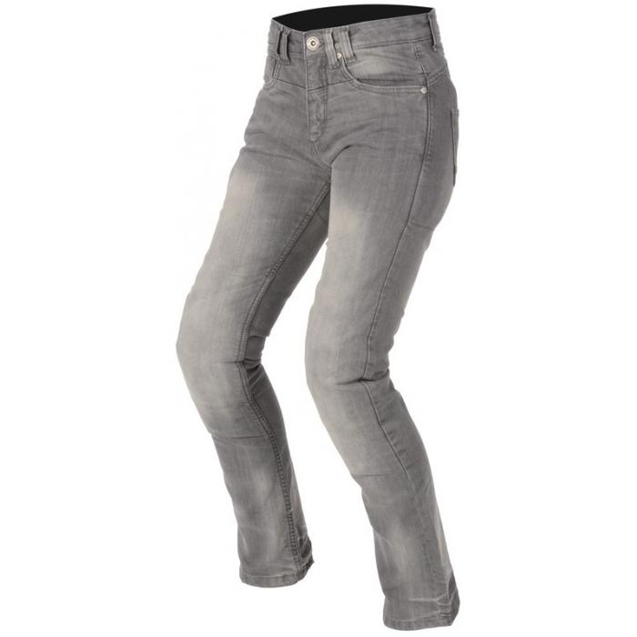 Dámské jeansy na motorku Ayrton Modus šedé
