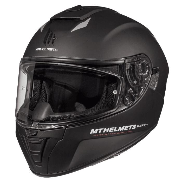Integrální přilba na motorku MT Blade 2 SV Solid černá matná