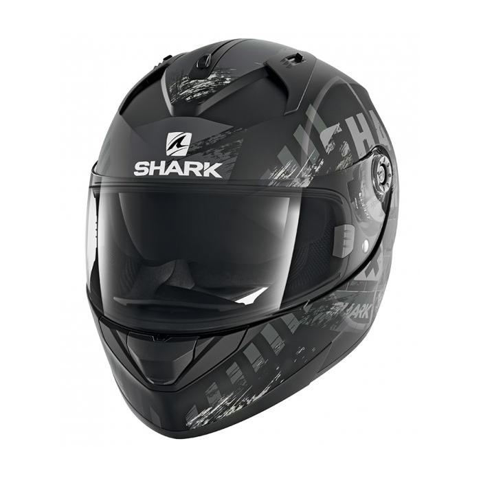 Integrální přilba SHARK RIDILL Skyd Mat černo-šedá