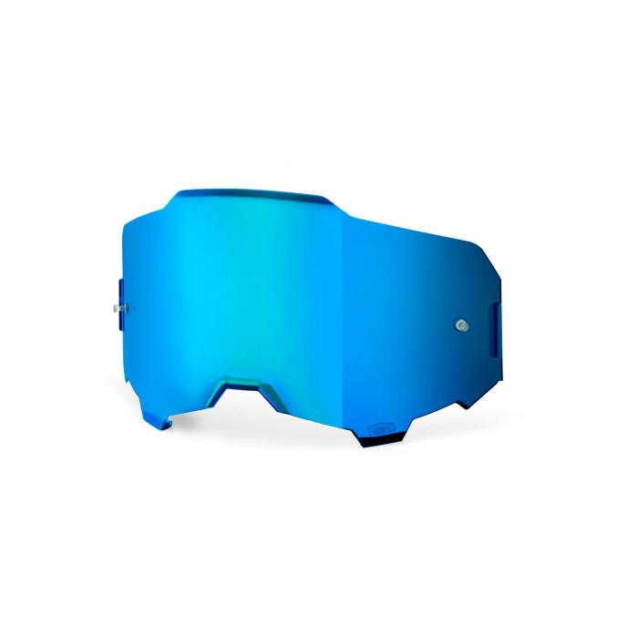 Modře iridiové sklo do brýlí 100% ARMEGA