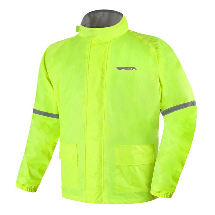 Moto bunda do deště RSA Insta fluo žlutá výprodej