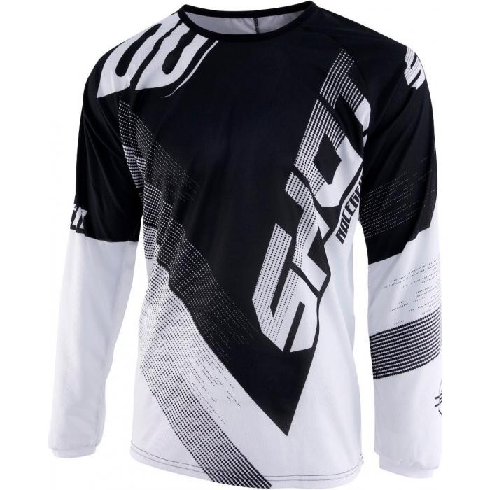 Motokrosový dres Shot DEVO Ultimate černo-bílý výprodej