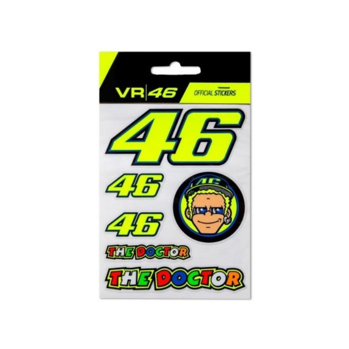 Nálepky VR46 Valentino Rossi