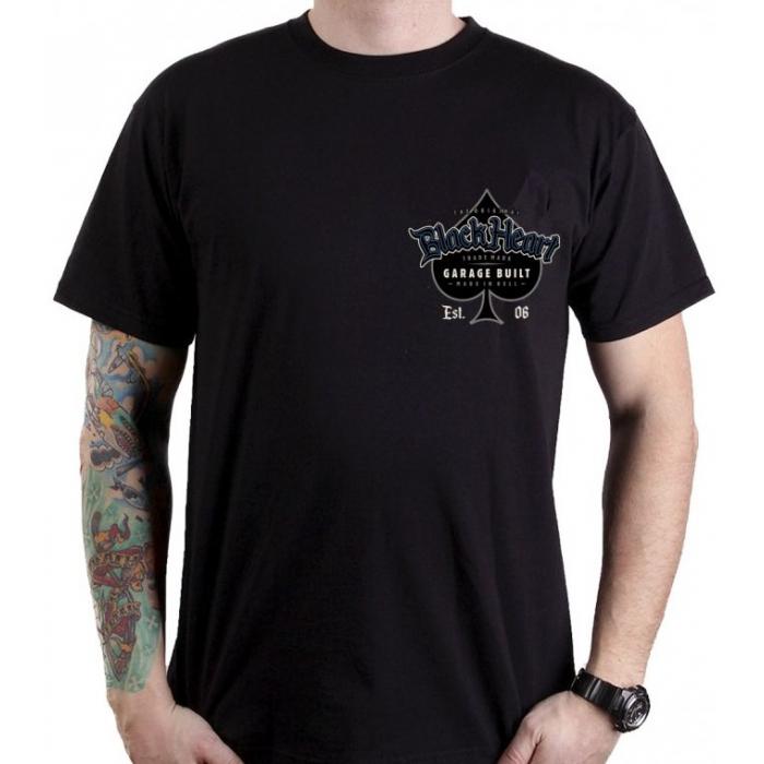 Pánské triko Black Heart Outcast výprodej