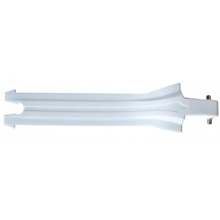 Pásek k přezce Shot X10, K10 bílý dlouhý