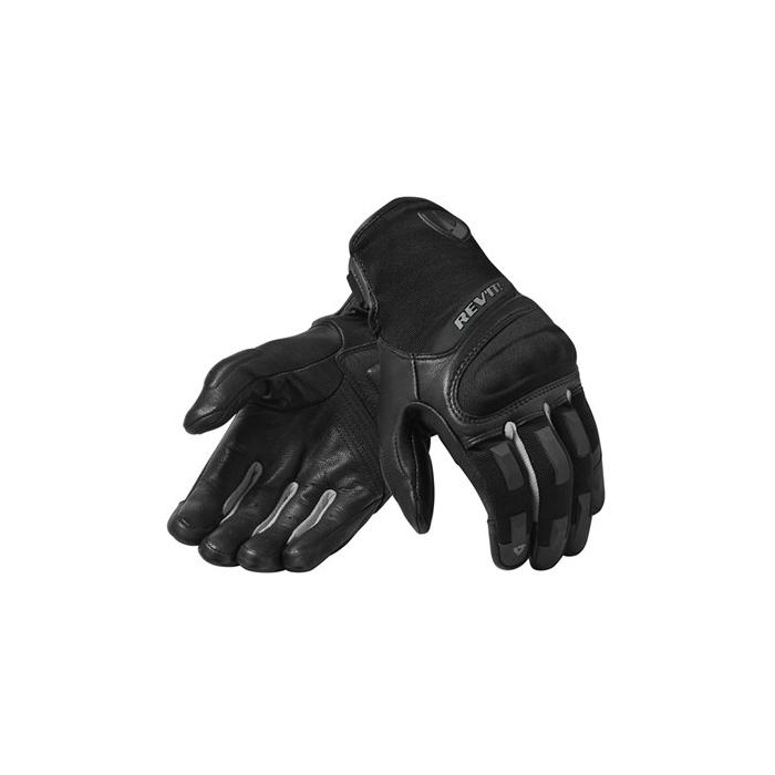 Rukavice na motorku Revit Striker 3 stříbrno-černé výprodej