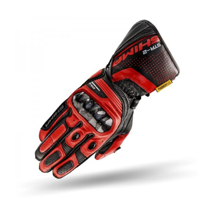 Rukavice Shima STR-2 černo-červené
