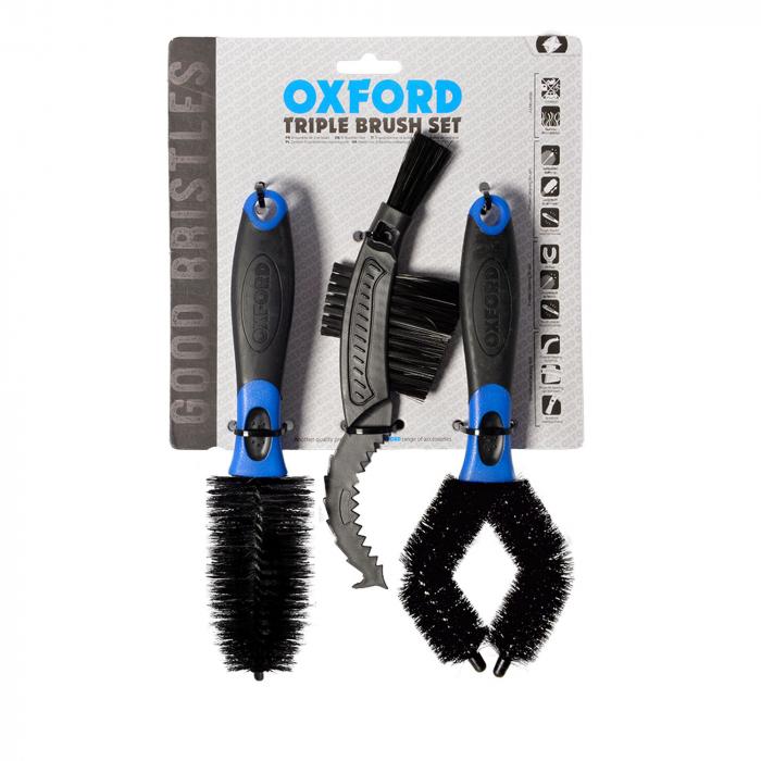 Sada kartáčů pro čištění Oxford 3 ks