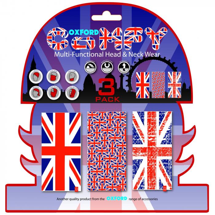 Šátky Oxford Comfy Union Jack