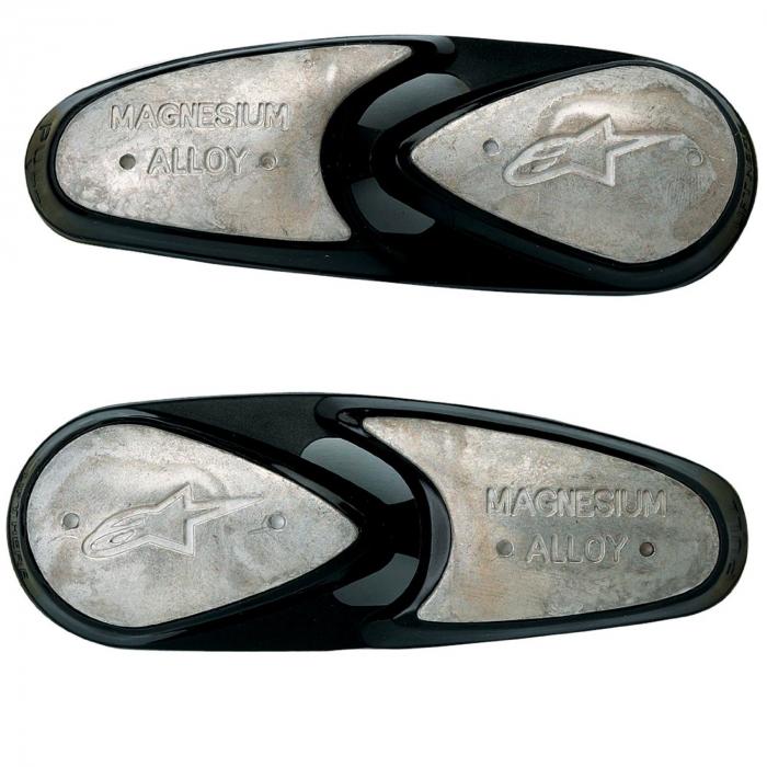 Slidery pro boty Alpinestars magnesiové