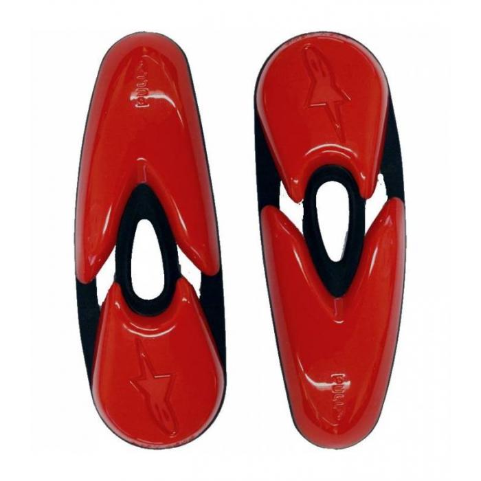 Slidery pro boty Alpinestars SMX-R/SMX-1/2/4/5/WP/STELLA/SUPERTECH R červené