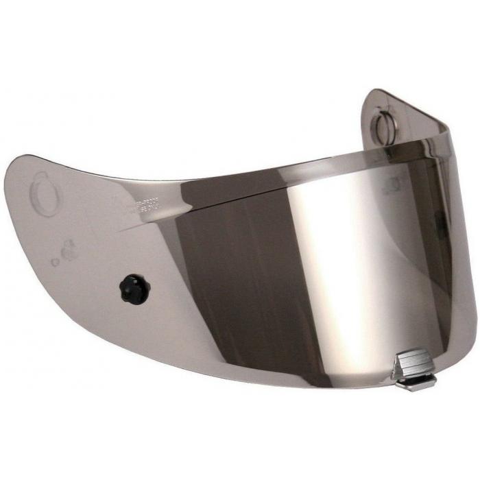 Stříbrně iridiové plexi HJC HJ-31