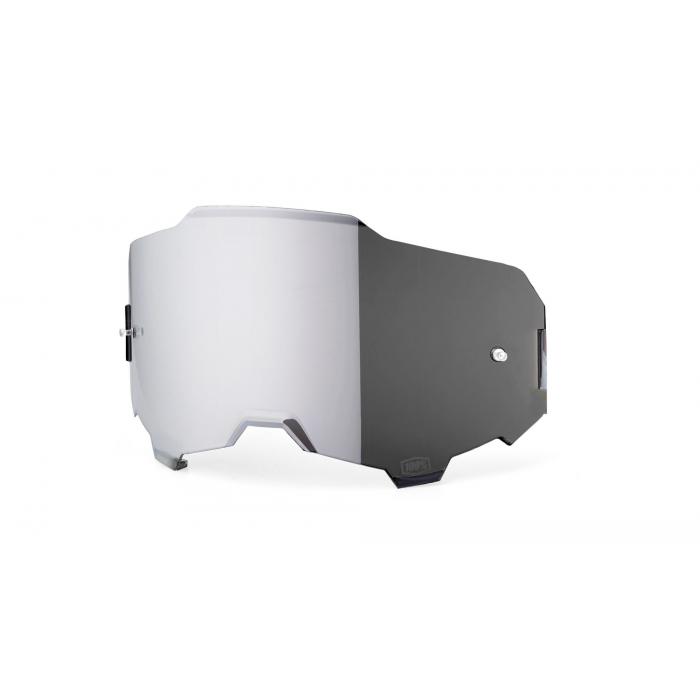 Stříbrně iridiové sklo do brýlí 100% ARMEGA