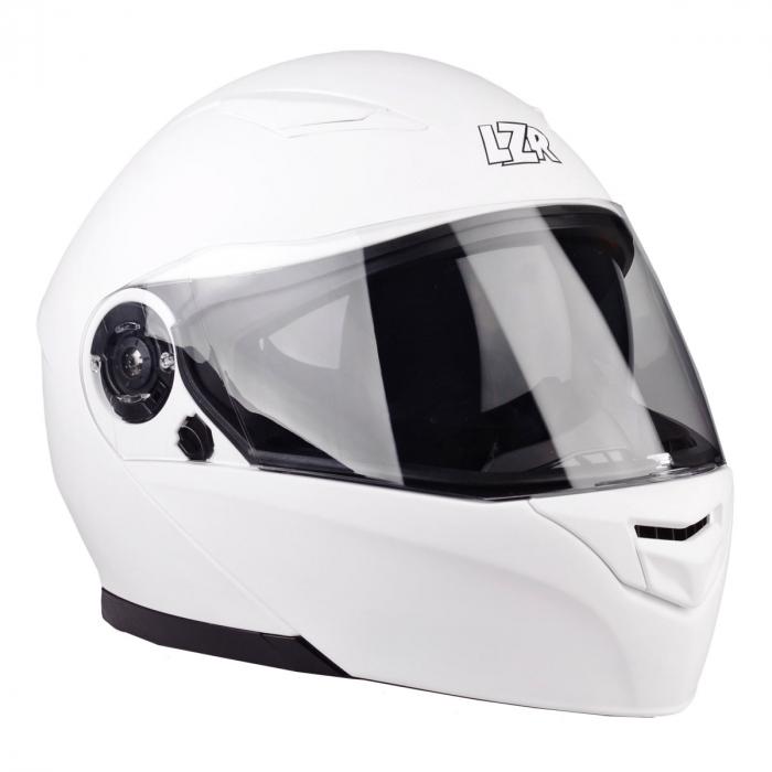 Vyklápěcí přilba na motorku Lazer MH2 Z-Line bílá lesklá výprodej