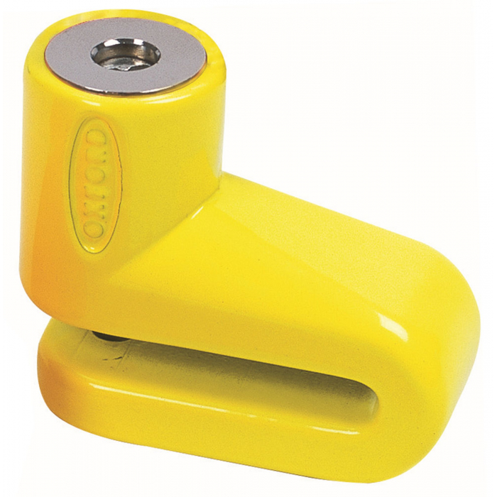 Zámek kotoučové brzdy Oxford Junior žlutý