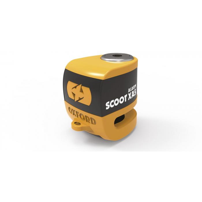 Zámek kotoučové brzdy Oxford Scoot XA5 oranžovo-černý