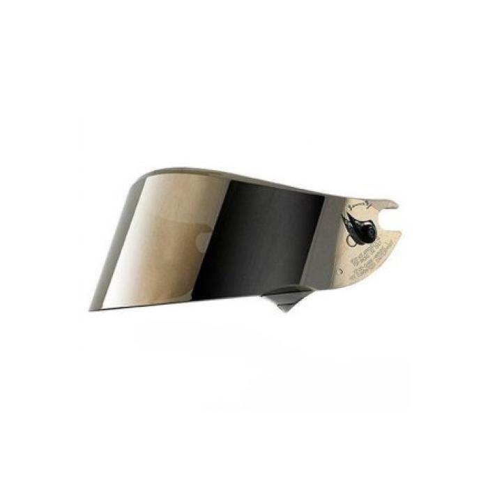 Zlatě iridiové plexi SHARK RACE R-PRO GP