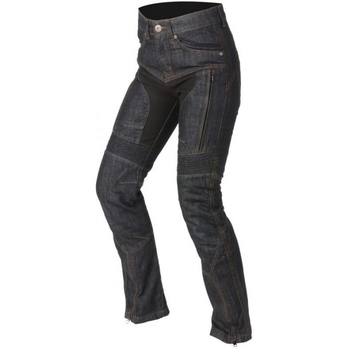 Dámské jeansy na motorku Ayrton Date modré výprodej